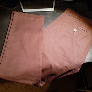 Banana Republic burgandy Chinos